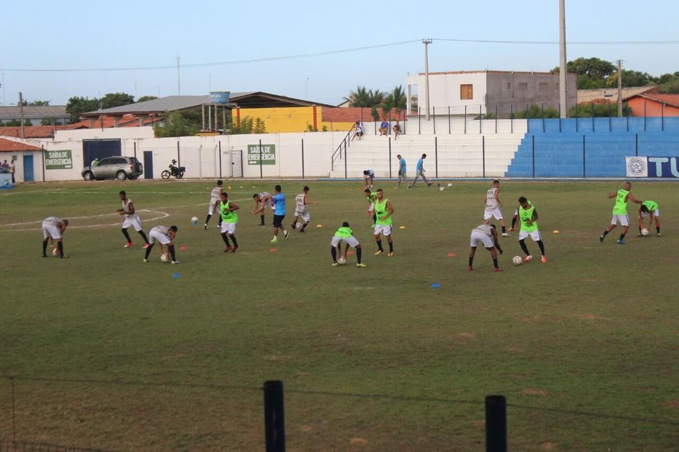 Parnahyba ganha novidades para sequência na Copa Piauí (Foto: Wenner Tito)