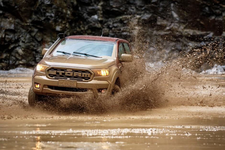 Ford Ranger Storm conta com um conjunto de pneus desenvolvido sob medida (Foto: Divulgação)