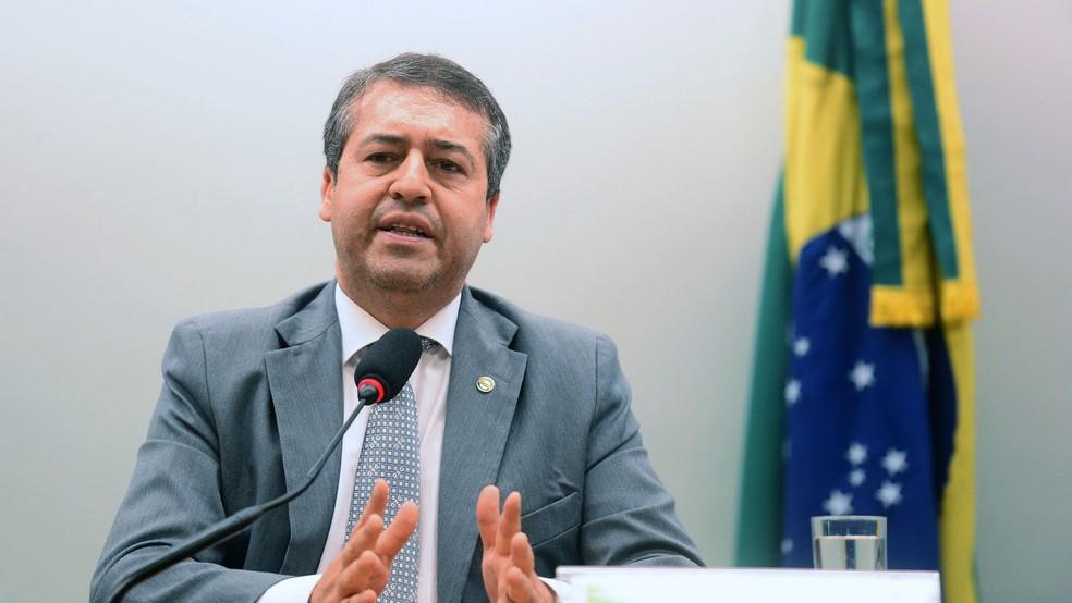 O ministro do Trabalho, Ronaldo Nogueira, durante audiência pública na Câmara dos Deputados (Foto: Edu Andrade/ASCOM Ministério do Trabalho)