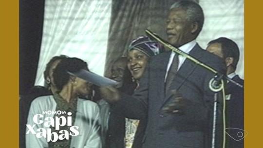 100 anos de Mandela: relembre visita do ex-presidente sul-africano ao ES
