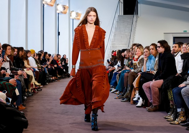 Chloé Fashion Show, Ready To Wear Collection Fall Winter 2018 in Paris (Foto: Regis Colin Berthelier for NOWFA)