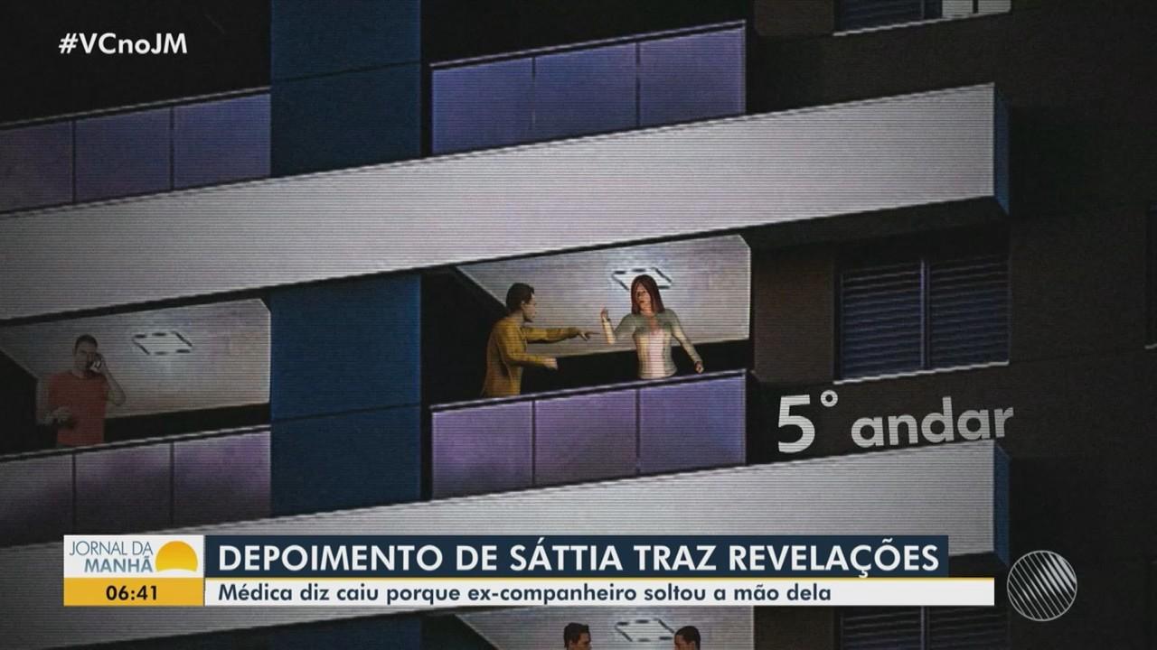 Médica Sáttia Lorena presta depoimento à polícia e revela novas informações sobre o caso