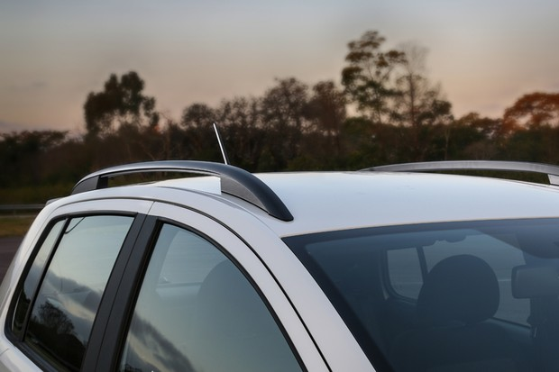 Volkswagen Fox Xtreme 2018 rack de teto (Foto: Divulgação)