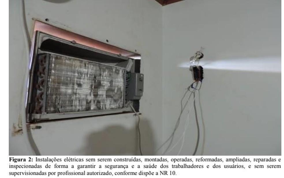 Relatório do Mato Grosso do Sul mostrou clubes em condições precárias — Foto: Reprodução