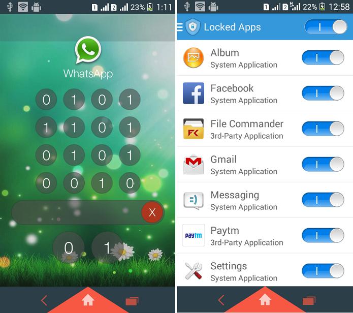 Shuffle Lock é um app para bloquear aplicativos no Android (Foto: Reprodução/Shuffle Lock)