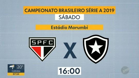 Confira a próxima rodada do Brasileirão
