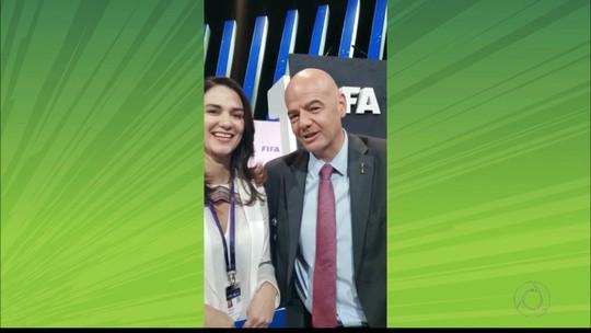 Presidente da Fifa parabeniza time da 2ª divisão da Paraíba pelo aniversário de 30 anos; veja vídeo