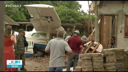 Piloto de avião que caiu em Belém continua em estado grave no Hospital Metropolitano