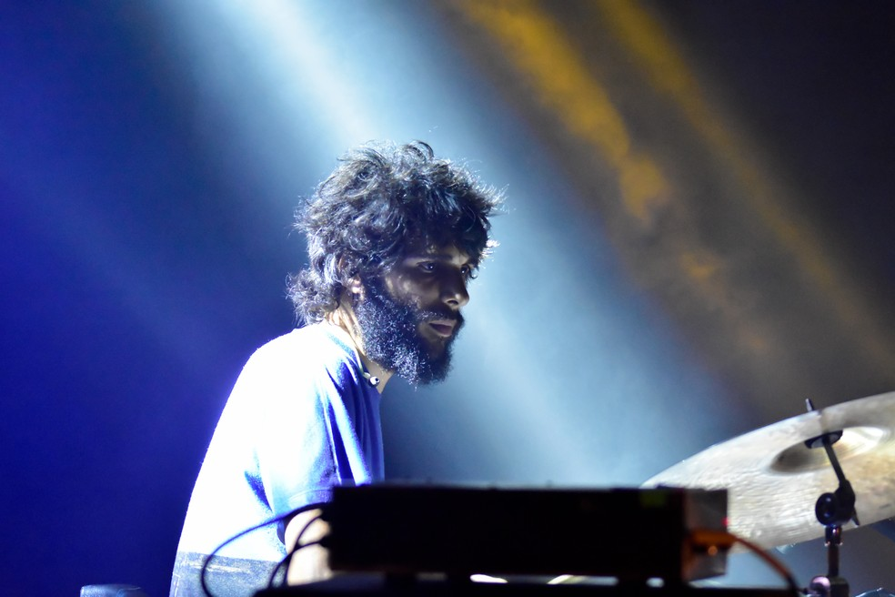 Oto Gris se apresentou na segunda noite do Mada 2018 — Foto: Pedro Vitorino