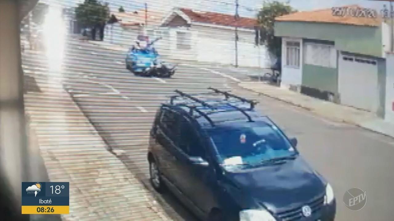 Motociclista entregador morre em acidente de trânsito em Franca