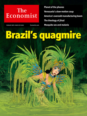 Nova edição da Economist destaca o Brasil na capa (Foto: Reprodução/Facebook)