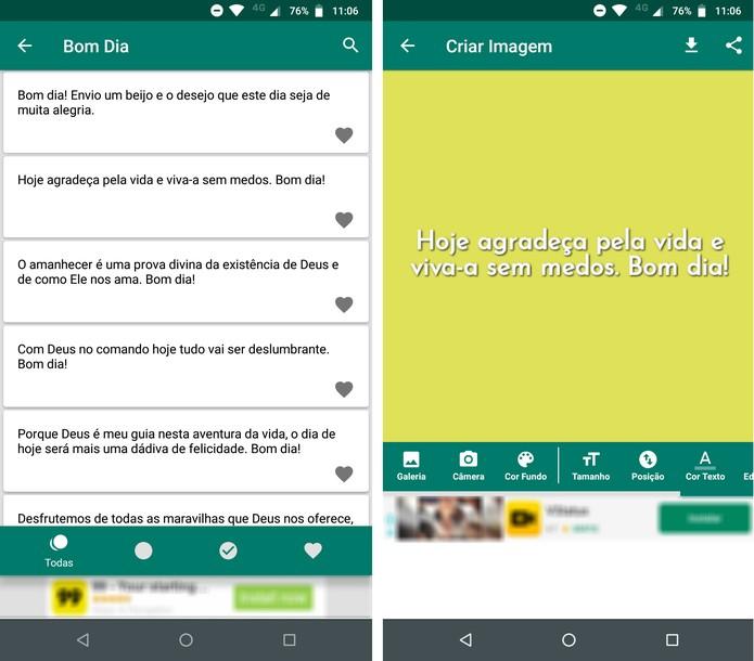 Mensagem De Bom Dia Para Whatsapp Veja 5 Apps Com Frases E