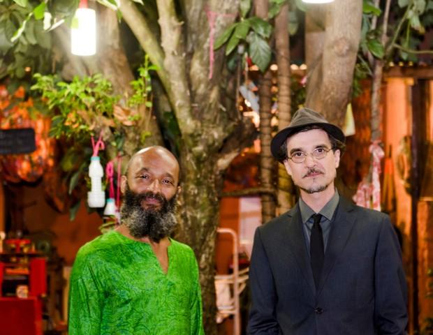 O cantor Rubi e o cantor e compositor Kleber Albuquerque (Foto: Divulgação)
