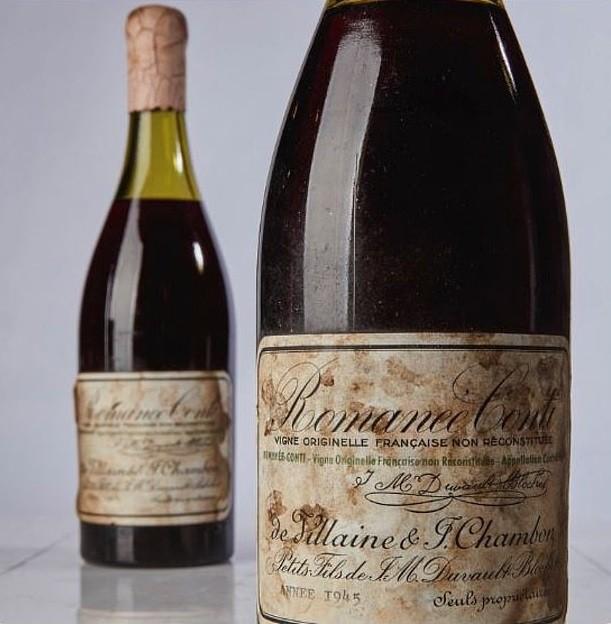 Vinho mais caro do mundo (Foto: Reprodução Sothesby)