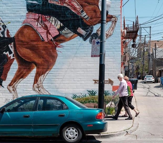Pilsen, em Chicago, abrigou ondas de imigração do leste europeu e do México (Foto: Reprodução/Instagram)