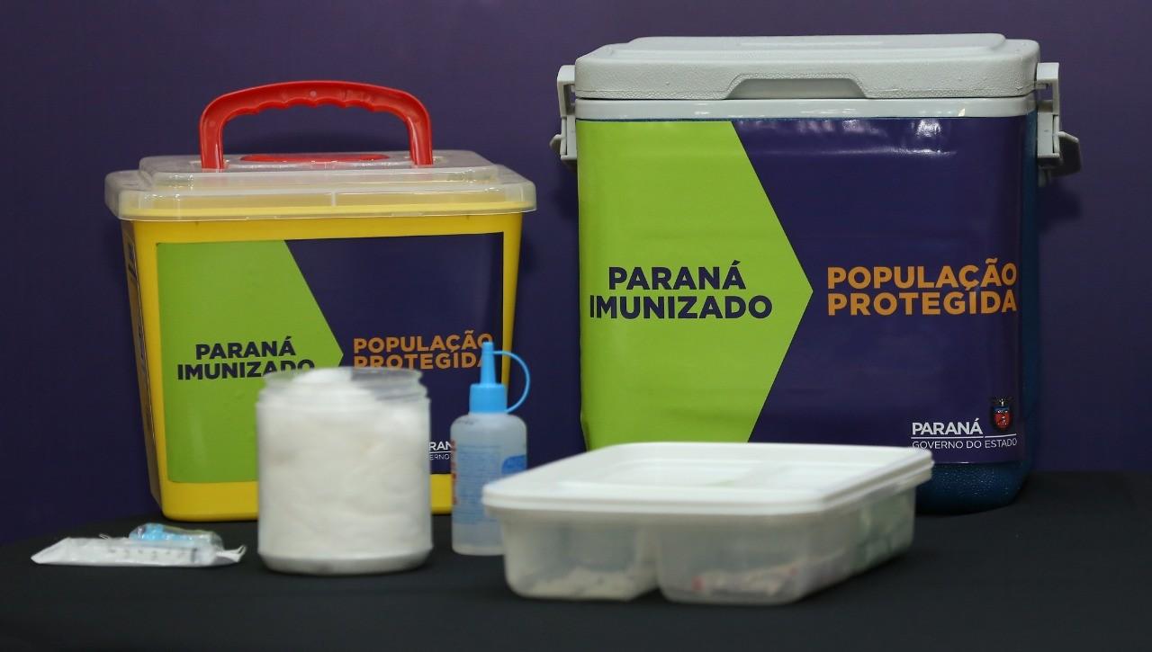 Curitiba e Região Metropolitana devem receber 39.240 doses da vacina contra a Covid-19