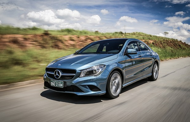 Testamos O Nov 237 Ssimo Mercedes Benz Cla 200 Auto Esporte