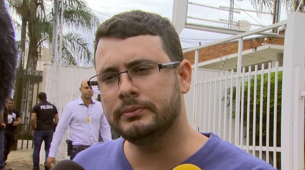 O advogado Klaus Philipp Lodoli, preso na Operação Têmis em Ribeirão Preto (Foto: Reprodução/EPTV)