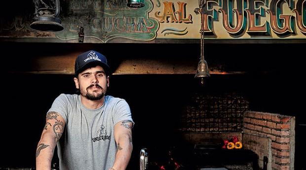 Santi Roig, chef e sócio do Underdog (Foto: Victor Pickersgill)