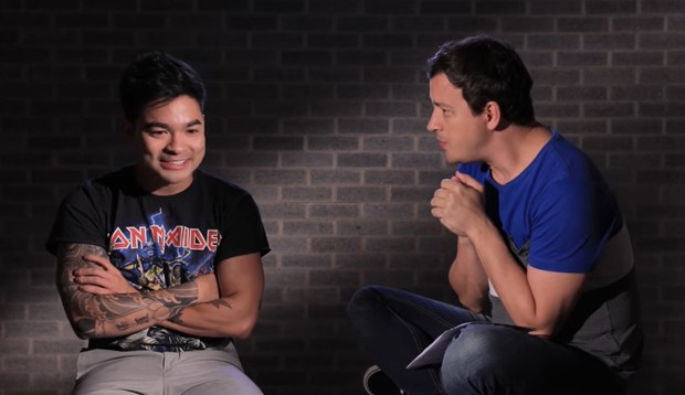 Yudi Tamashiro e Rafael Cortez. (Foto: Reprodução/YouTube)