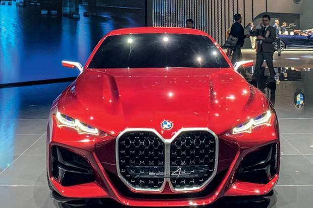 Salão de Frankfurt 2019 -  BMW Concept 4   (Foto:  )