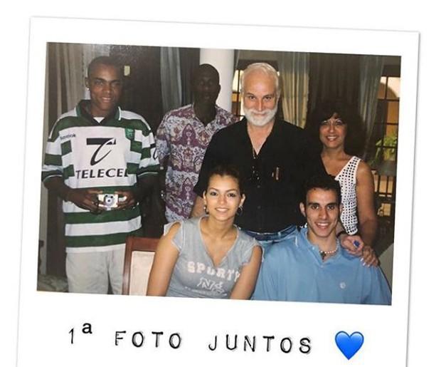Kelly Key no dia em que conheceu Mico Freitas e os sogros (Foto: Reprodução/Instagram)