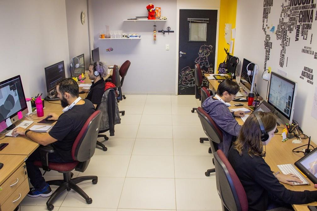 Studio Gepetta, empresa incubada no Metrópole Digital da UFRN, faz parte do parque tecnológico de Natal — Foto: Thércio Leite