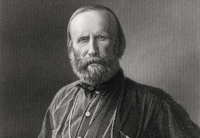 O italiano Giuseppe Garibaldi (Foto: Reprodução)