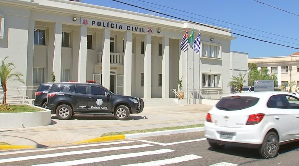 Central da Polícia Judiciária de Araçatuba foi inaugurada — Foto: Reprodução/TV TEM