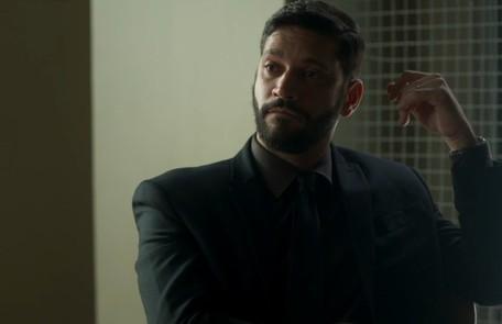 Na quinta-feira (31),Diogo (Armando Babaioff) sabotará o elevador da editora e causará um acidente fatal TV Globo