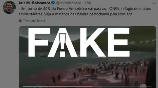 Foto: (Reprodução/Twitter/Bolsonaro)