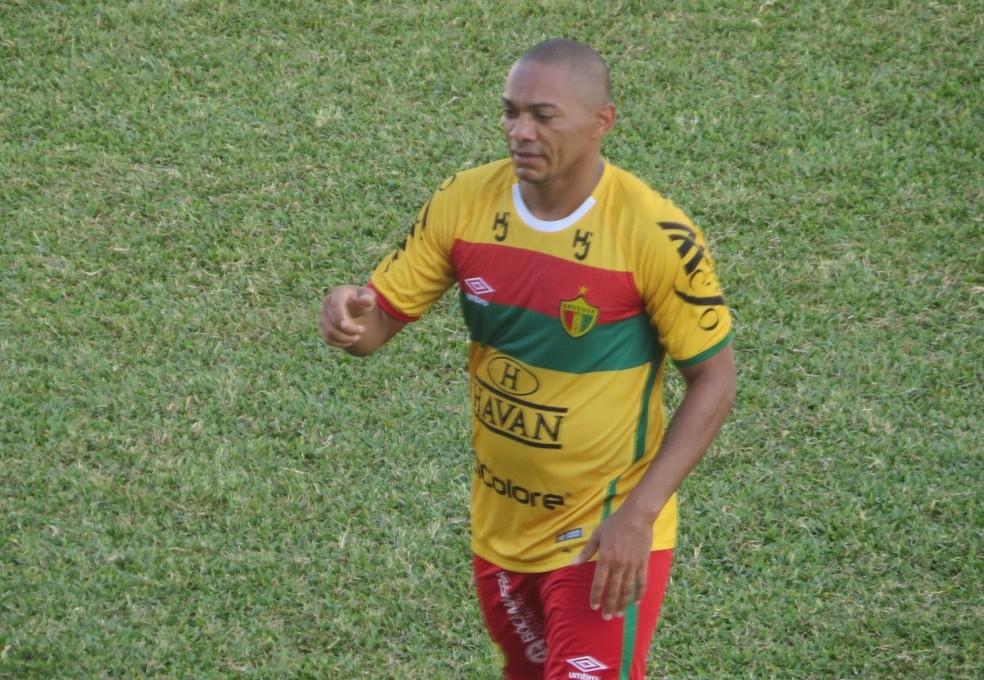 No Brusque, Lima é o artilheiro da Série D com 6 gols marcados (Foto: Sidney Silva/Brusque)