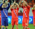 Jogadores da Rússia, país sede da Copa de 2018 | Reprodução