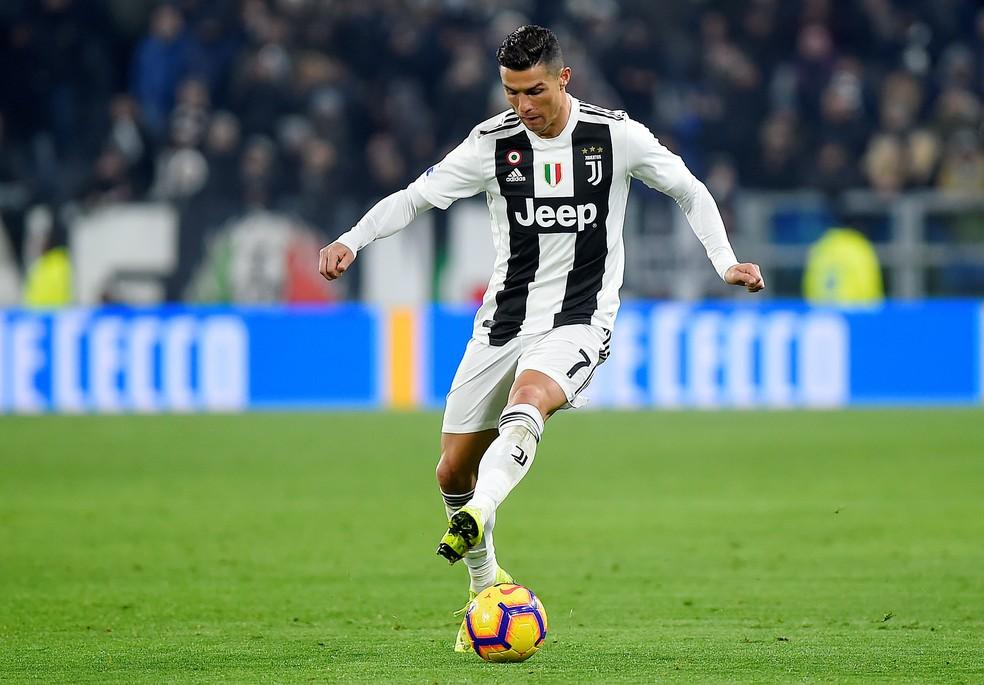 Juventus, de Cristiano Ronaldo, recebe 26,7 milhões de euros por ano em patrocínios — Foto: Reuters