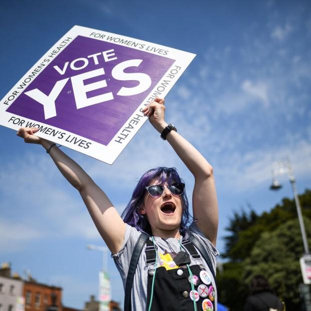 Protesto à favor da legalização do aborto (Foto: Getty Images)