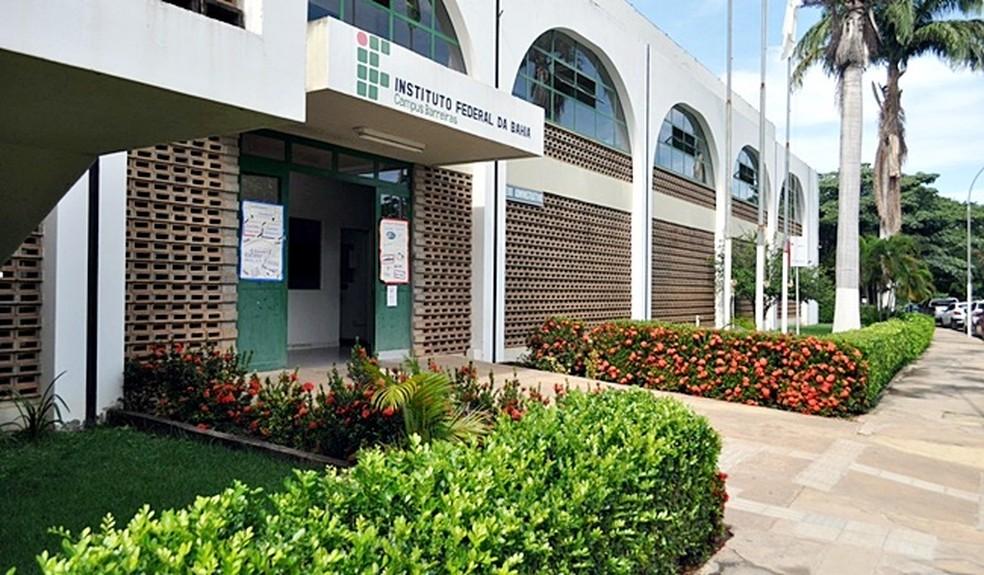 Instituto Federal de Educação, Ciência e Tecnologia da Bahia (Ifba) em Barreiras — Foto: Reprodução/Redes Sociais