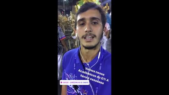 Confira a cobertura do G1 do carnaval pelo Instagram Stories