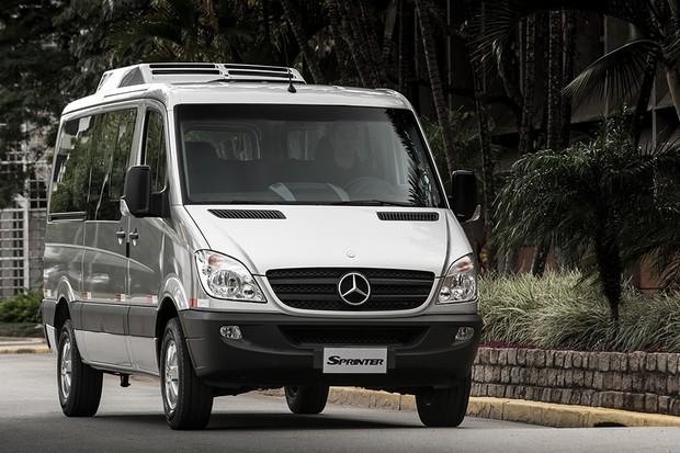 Mercedes-Benz Sprinter 415 9+1 (Foto: Divulgação)