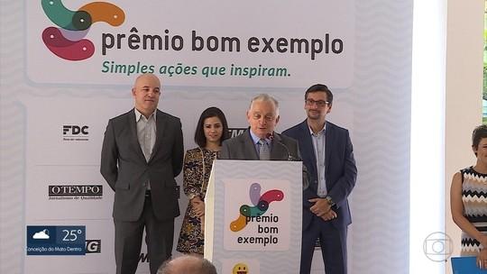 Prêmio Bom Exemplo é lançada em Belo Horizonte