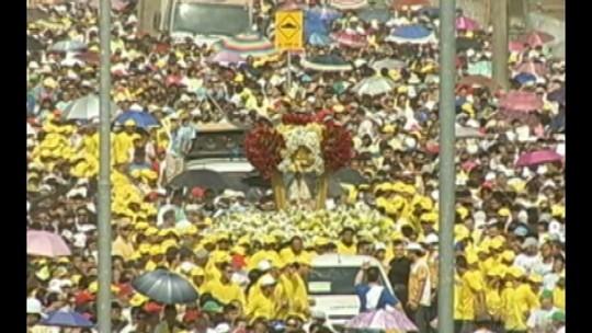 Círio de Nazaré atrai 200 mil fiéis a Marabá, sudeste do Pará