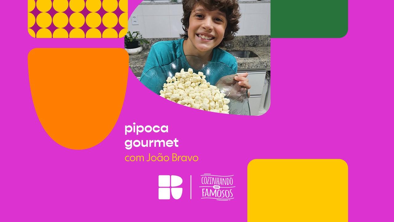João Bravo ensina a fazer Pipoca Gourmet