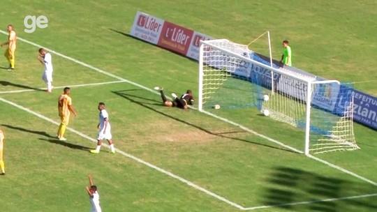 Em casa, Luziânia vence Brasiliense e leva vantagem para o jogo de volta