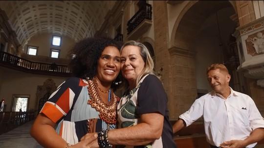Mariene de Castro se emociona ao revisitar origem em 'De Volta ao Passado'