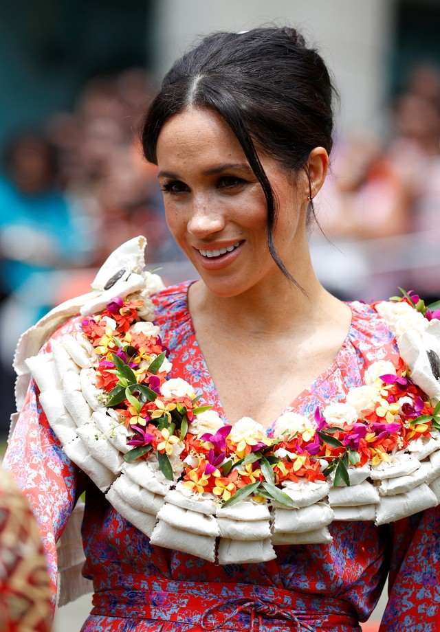 Meghan Markle na Universidade do Pacífico Sul (Foto: Getty Images)
