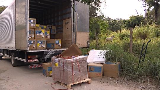 Após troca de tiros, polícia prende suspeitos de roubar carga de caminhão na Grande BH