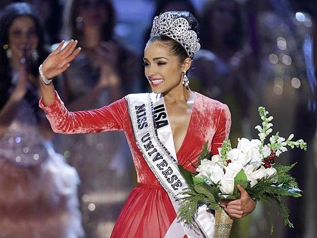 A norte-americana Olivia Culpo é coroada Miss Universo 2012. (Foto: Julie Jacobson / AP Photo)