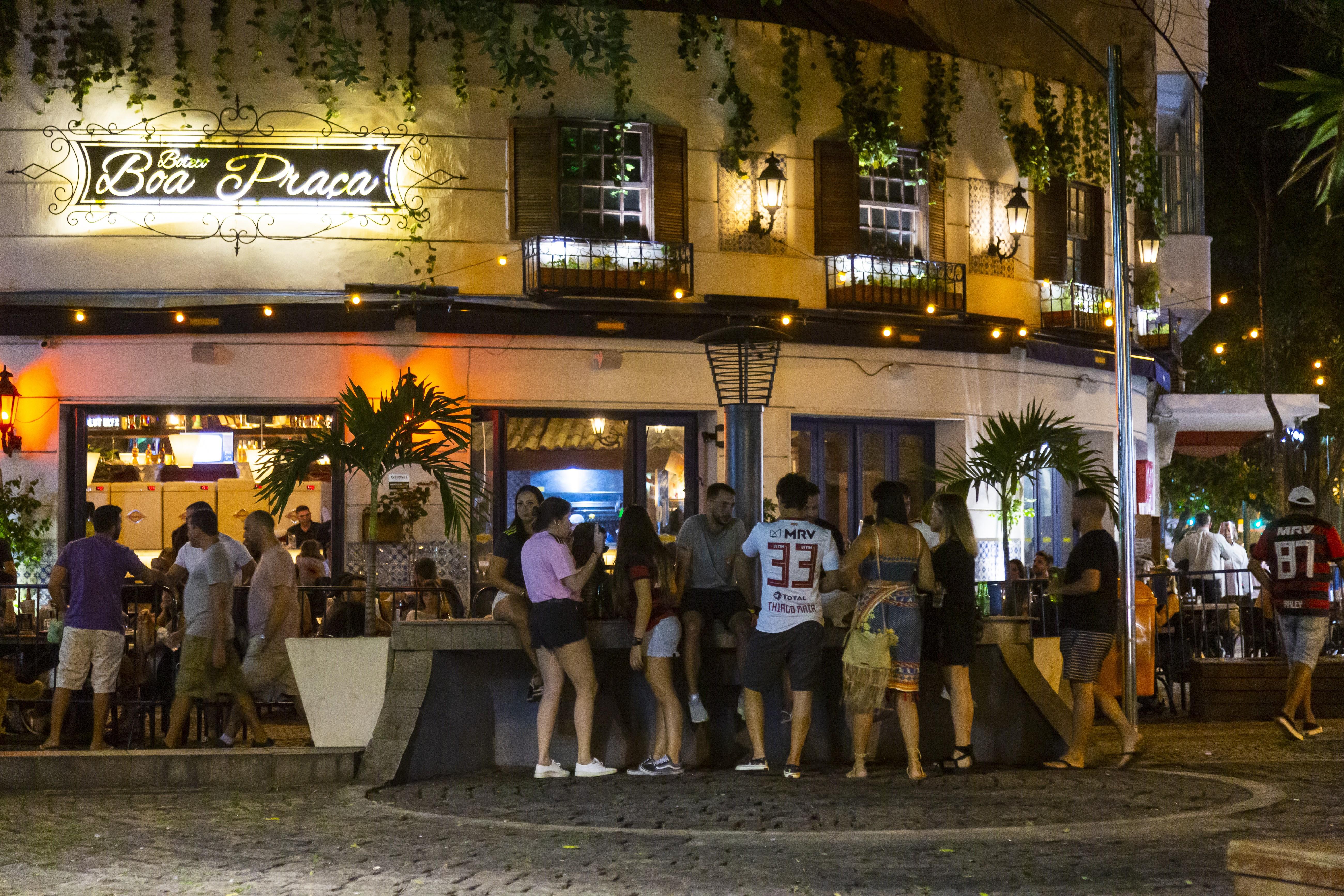 Nem todos os bares da cidade retomaram atividades