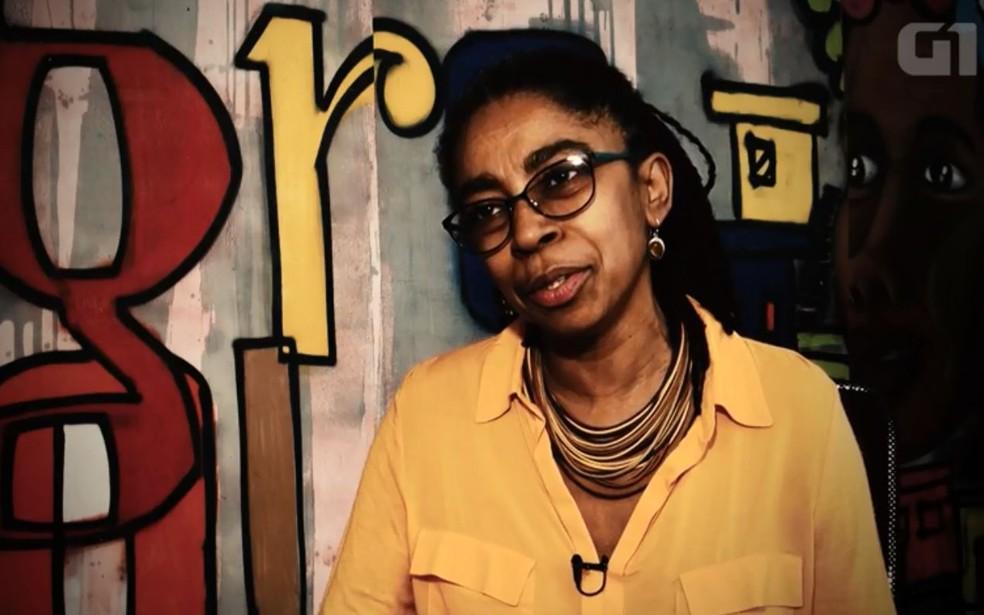 Diretora da Anistia Internacional, Jurema Werneck — Foto: Reprodução/G1
