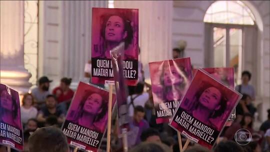 Homenagens e atos pelo Brasil e mundo marcam um ano do assassinato de Marielle e Anderson