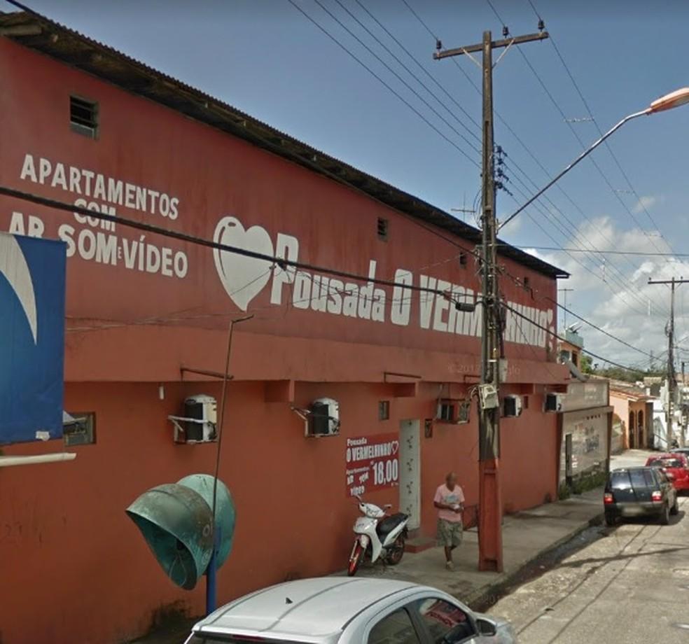 Pousada O Vermelhinho, em Belém. (Foto: Reprodução / Google Maps)